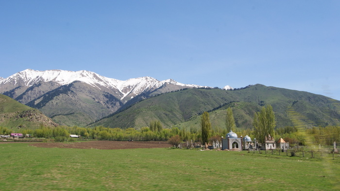 в Киргизии