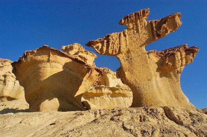 Скалы и пляж Bolnuevo